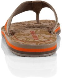 BOSS Orange - Thong Sandals 'Rothon' In Leather - Lyst