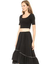 Preen Jinn Dress Black - Lyst