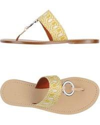 Missoni Thong Sandal - Lyst