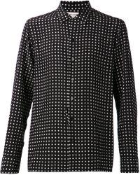 Saint Laurent Black Classic Shirt - Lyst