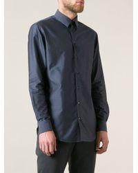Giorgio Armani Mini Polka Dot Shirt - Lyst