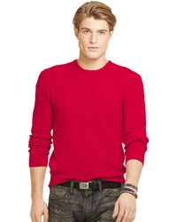 Polo Ralph Lauren Cable Cashmere Sweater - Lyst