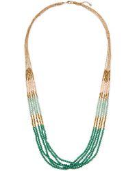 Panacea Multi-Strand Beaded Necklace - Lyst