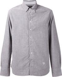 Rag & Bone Embroidered Logo Shirt - Lyst