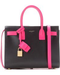 yves saint laurent leather handbag - Saint laurent Sac De Jour Baby Lizard-embossed Leather Tote in ...