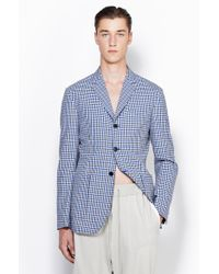 3.1 Phillip Lim Classic Fit Single Breasted Blazer With Patch Pocket - Lyst