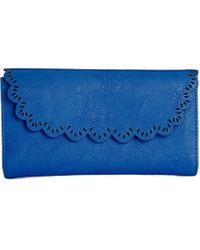 Asos Scallop Edge Envelope Purse - Lyst