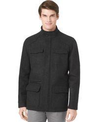 Calvin Klein Wool Blend Jacket - Lyst