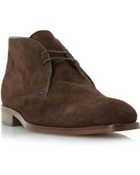Roland Cartier - Carrick Suede Lace Up Chukka Boot - Lyst