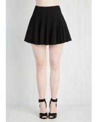 Lush - Records Before Breakfast Skirt In Black - Lyst