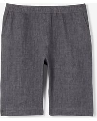 Our Legacy Gray Relaxed Short - Lyst