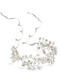 Nestina Accessories - Crystal Vine Bridal Head Piece - Lyst