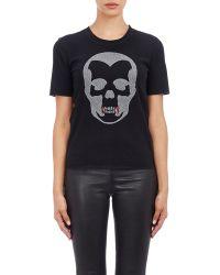 Lucien Pellat Finet - Vampire Skull T-shirt - Lyst