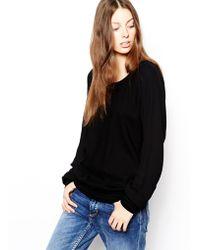BOSS Orange - Kadina Woven Sweatshirt - Lyst