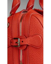 Burberry - The Small Alchester In Grainy Leather - Lyst