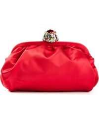 Dolce & Gabbana Jewel Clasp Clutch - Lyst