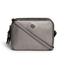 Tory Burch 'Robinson' Double Zip Leather Crossbody Bag - Lyst
