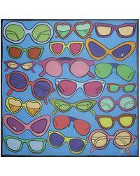 Anna Coroneo - Silk Sunglasses Scarf - Lyst