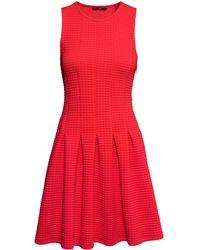 H&M Pleated Dress - Lyst