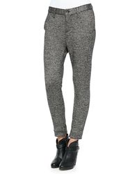 Rag & Bone Dash Knit Slim Trousers - Lyst