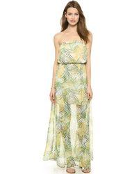 Bb Dakota Piper Cool Grass Maxi Dress - Multi - Lyst