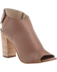 Steve Madden Nonstp Bootie Natural Leather brown - Lyst