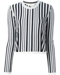 O'2nd - Vertical Stripe Sweater - Lyst