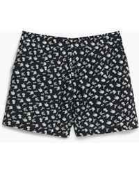 Mango | Printed Flowy Shorts | Lyst