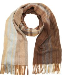 Mulberry Ombre Check Wrap - Lyst
