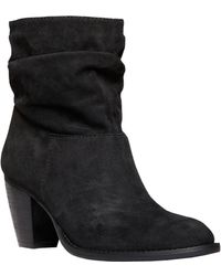 Steven by Steve Madden Welded Suede High-Heel Boots - Lyst