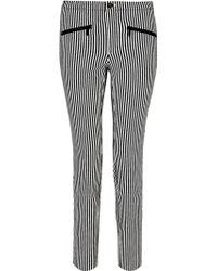 Theyskens' Theory Ipin Plove Stripe Skinny Jeans - Lyst