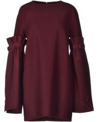Viktor & Rolf Purple Short Dress - Lyst