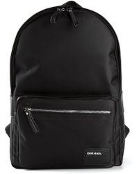Diesel Black Drumroll Backpack - Lyst