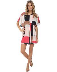 Kate Spade Mykonos Color Block Pull-Cord Dress - Lyst