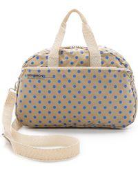 Bensimon - Polka Dot Sport Bag - Blue Dots - Lyst