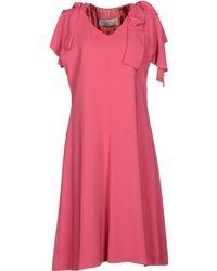 Valentino Roma Short Dress - Lyst