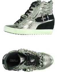 Colors Of California High-Tops & Trainers silver - Lyst