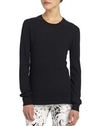 McQ by Alexander McQueen Wool Crew Neck Sweater - Lyst