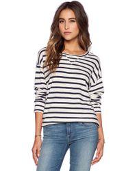 CP Shades - Palm Striped Sweatshirt - Lyst