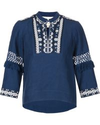 Sea | Embroidered Blouse | Lyst