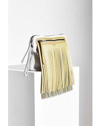HUNTER - Original Rubber Fringe Pouch Bag - Lyst