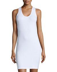 Anatomie - Alina Jersey Tank Dress - Lyst