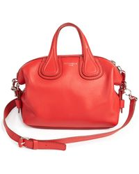 Givenchy | Nightingale Micro Leather Satchel | Lyst