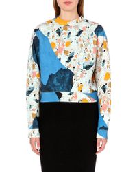 Acne Studios Bird Light Terrazzoprint Sweatshirt Light Terazzo Print - Lyst