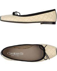 Cantarelli Ballet Flats - Lyst