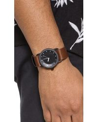 TID - No. 1 Leather Watch Strap - Lyst
