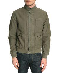 Closed Grand Khaki Jacket - Lyst