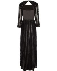 Temperley London Long Rosette Dress - Lyst