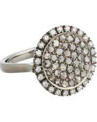 Roberto Marroni - Diamond Three-Face Ring - Lyst