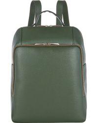 Barneys New York - Saffiano Backpack - Lyst
